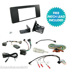 Double Din Car CD Radio Stereo Fascia Fitting Installation Kit For BMW X5 E53