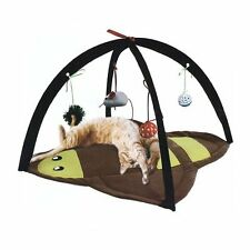 Pet Cat  Exercise Toys Mobile Activity Playing Tent Toys Bed Blanket House