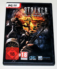 Stalker-Call of Pripyat-PC DVD con manual-S.T.A.L.K.E.R. - alemán Uncut