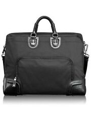 NIB TUMI Healy attache bag briefcase laptop case business travel black sturdy