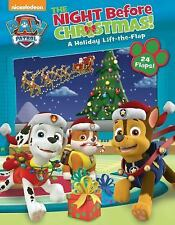 PAW Patrol: the Night Before Christmas by Nickelodeon (2016, Board Book)