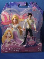 New Disney Tangled Fairy Tale Wedding Princess Rapunzel Eugene Figures Kingdom