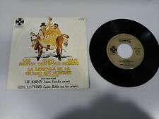 "LA LEYENDA DE LA CIUDAD SIN NOMBRE SOUNDTRACK SINGLE 7"" VINYL SPANISH EDIT 1970"