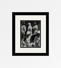 "FRAMED 1930s Henri CARTIER-BRESSON Vintage Photogravure ""Music of Mexico"" COA"