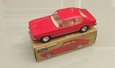 MECCANO TRIANG DINKY 70er anni made in France 1:18 FORD CAPRI I TOP IN SCATOLA ORIGINALE