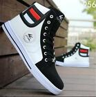 Mens Shoes Round Toe Fashion Sneakers Casual Lace Up Skateboard Shoes AU Size