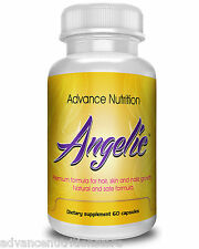 BEST Hair Vitamins For Growing Hair Faster ANGELIC Fast Grow Beauty Supplement