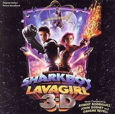 1 CENT CD The Adventures of Sharkboy and Lavagirl in 3-D - OST robert rodriguez