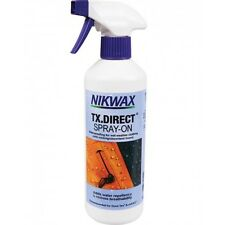 Nikwax TX Direct SPRAY ON 500ml Waterproofing waterproofer Wet Weather clothing