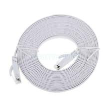 White 16FT RJ45 CAT5 CAT 5 High Speed Ethernet LAN White Network Patch Cable
