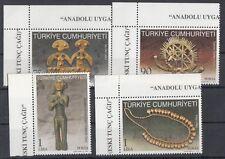 TURCHIA-TURKEY 2010 beni culturali dell'Anatolia 3567-70 MNH