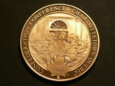 Canada, Confederation Conference Charlottetown Quebec 1864, Bronze Medal  #4833