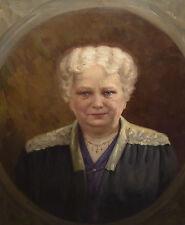 Dame Goldkette Collier Art Deco Jugendstil Porträt Richard Gerling 1880 Duisburg