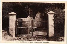 CPA  Saint-Pair-sur-Mer - La Fontaine Saint-Gaud    (245587)