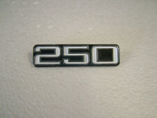 YAMAHA  RD250/A '73 -'74 SIDE COVER BADGE