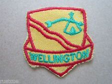 Wellington Canada Canadian Boy Scouts Scouting Woven Cloth Patch Badge