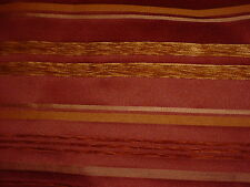 5 YDS RIBBED CHENILLE STRIPE TAPESTRY  UPHOLSTERY, CRAFT FABRIC