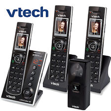 Vtech Audio Video Porch Doorbell Camera 3 Cordless Phones IS7121-2 + IS7101