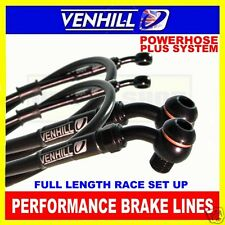 SUZUKI GSX1300 B-KING 2007-12 VENHILL stainless steel braided brake hoses BK