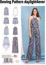 Women Top Pants Shorts Skirt Sewing Pattern 1112 Simplicity Easy  12-20 New k