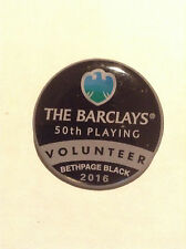 2016 Barclays Golf @ Bethpage Black Volunteer pin