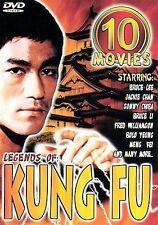 LEGENDS OF KUNG FU (DVD SET) Bruce Lee Jackie Chan Yeung 10 Movies Film Lot 2001