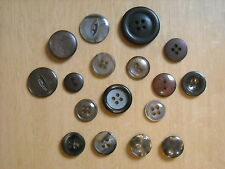 ASSORTED BROWN BUTTONS