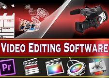 Edición de vídeo profesional Movie Studio completo programa de software completo