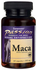 Maca Passion Root Extract 60 Capsules - Sexual, Intimacy Enhancer & Performance