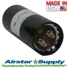 270-324 MFD uf 220-250 VAC Round Electric Motor Start Capacitor • Made in USA