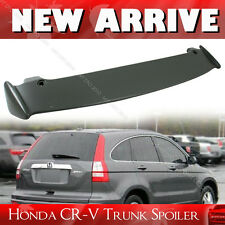 For Honda CR-V CRV 3rd Mugen-Look Unpainted Roof Trunk Spoiler 07 11