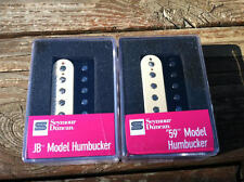 Seymour Duncan SH-4 JB Bridge & SH-1 59 Neck ZEBRA Humbucker Pickup Set - NEW