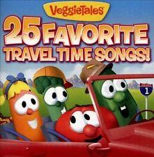 25 Favorite Travel Time Songs! by VeggieTales (CD, 2013, The Big Idea)