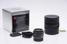 Leica 35mm f2 Summicron-M ASPH Aspherical 6-Bit Lens 35/2 (11879)           #374