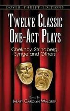 Twelve Classic One-Act Plays (Dover Thrift Editions), , Good Condition, Book