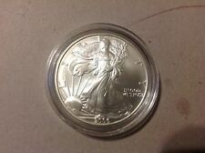 2006-W AMERICAN SILVER EAGLE 1 OZ  UNCIRCULATED BURNISHED No box or COA