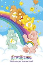 2005 CARE BEARS OVER THE RAINBOW POSTER NEW 34x22 FREE FAST SHIPPING