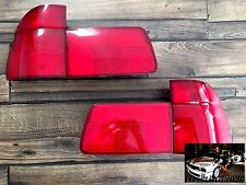 BMW E39 OEM  EURO Tail Lightst All Red Tinted Touring Genuine Wagon