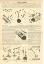The Repair of Single Tube Bicycle Tires  -  1896