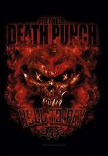 "FIVE FINGER DEATH PUNCH FLAGGE / FAHNE ""HELL TO PAY"" POSTER FLAG POSTERFLAGGE"