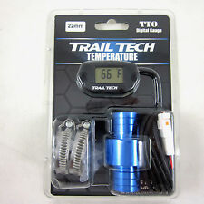 Trail Tech TTO Temperature Meter Digital Gauge  22mm In-Line Hose Sensor 742-EH2