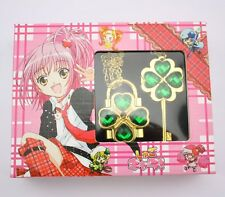 Green Shugo Chara Cosplay Openable Lock & Key Necklace Pendant Valentine's Day