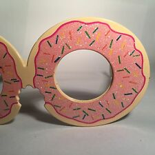 Doughnut Glitter Novelty Faux Sunglasses Party Festival Opia Primark