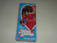 NEW IN BOX BARBIE DOLL THE HEART FAMILY KISS & CUDDLE 3768 MATTEL 1986 AFRICAN