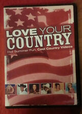 Love Your Country: Hot Summer Fun, Cool Country Videos ( DVD) Like New