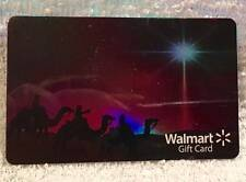 WalMart Christmas Three Wise Men Magi North Star Foiled 2015 Gift Card FD-48549