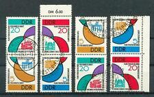 DDR 1962 SZd20/1,24/5 gest ZUSAMMENDDRUCKE 88€(N6755