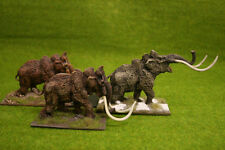 Deezee miniatures mammouth troupeau! 28mm wargames
