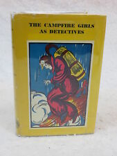 Julianne Devries  THE CAMPFIRE GIRLS AS DETECTIVES  World Publishing  1933 HC/DJ