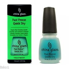 China Glaze FAST FREEZE QUICK DRY NAIL TREATMENT NAIL POLISH DRYER 1/2 OZ. SIZE